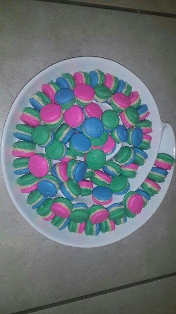 Lollos en Lettie macaroons made by me