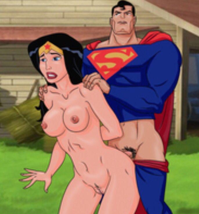 supermsn and woder woman fucking