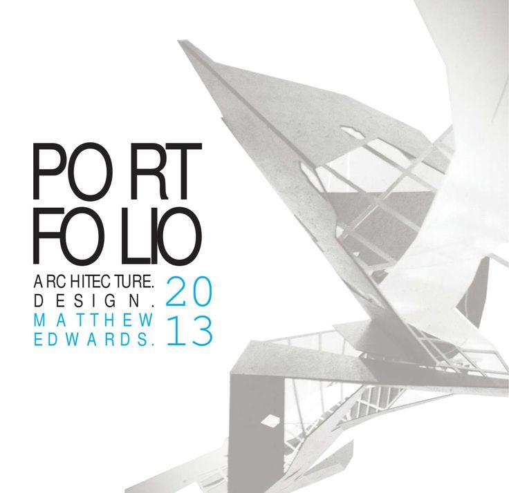 21 best Architecture Portfolio images on Pinterest | Architecture ...