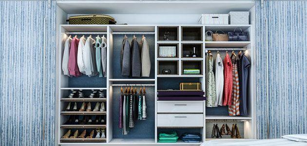 تفسير رؤية الخزانة الدولاب في المنام Custom Closet Organization Custom Closet Design Custom Closets