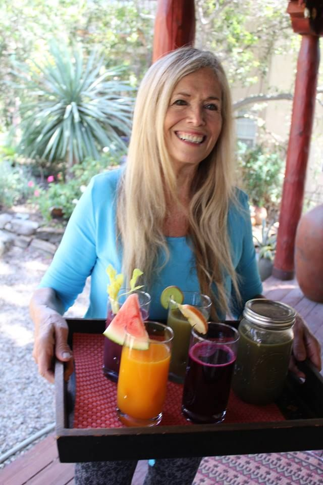 Mimi Kirk, raw vegan. 75 years old.