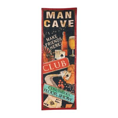 RAM Game Room R981 Canvas Man Cave Sign