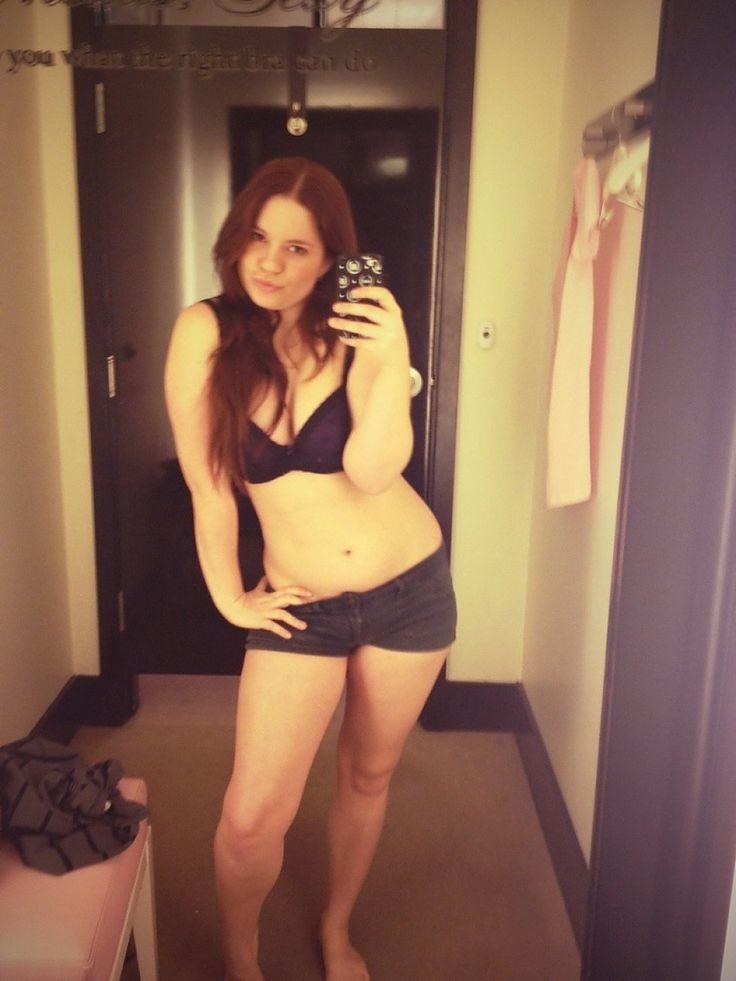 Victoria secret changing room selfie