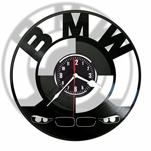 BMW vinyl Wall Clock-Modern room decor-Handmade Gift for ...