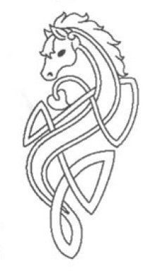 celtic horse tattoo - Google Search