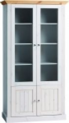 Monaco Pine Tall 2 Glazd Drs Plus 2 Dr Wide Display Unit http://solidwoodfurniture.co/product-details-pine-furnitures-2081-monaco-pine-tall-glazd-drs-plus-dr-wide-display-unit.html