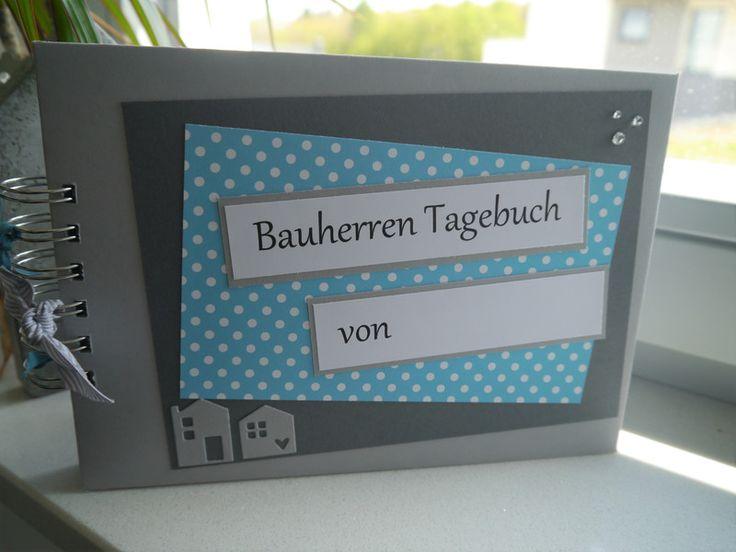 Spiralalben - Bautagebuch / Fotobuch / Hausbau - ein Designerstück von szamie bei DaWanda