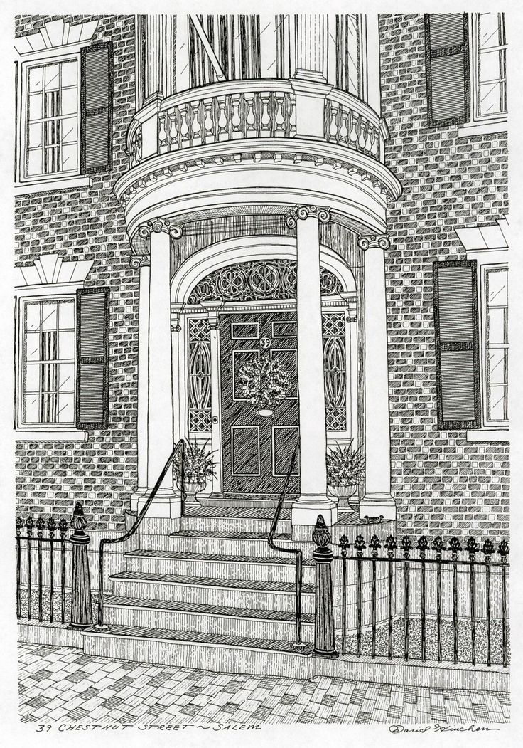 coloring pages brownstone - photo#43