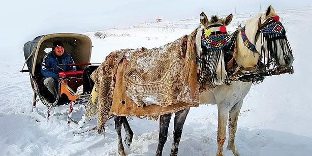 wintery adventures to be had around Lake Çıldır and Veliköy (article by Pat Yale)