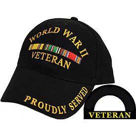 (http://www.militarymemoriesandmore.com/wwii-veteran-hat/) ONLY $9.00