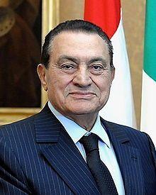 4th President of Egypt (B.1928) Hosni Mubarak  (Muhammad Hosni El Sayed Mubarak)