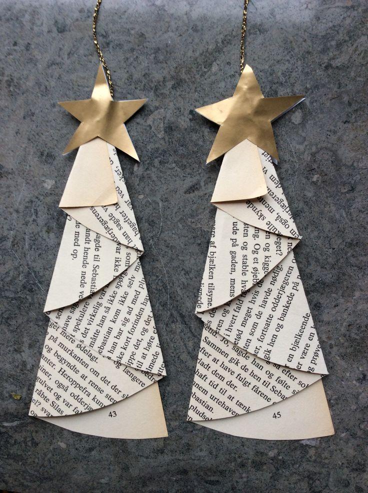 Så skal de sidste timer slås ihjel, inden træet skal tændes, og gaverne skal åbnes. Hvad med at klippe lidt ekstra pynt til juletræet? Du skal bruge: En gammel bog med gule sider Saks Passer eller…