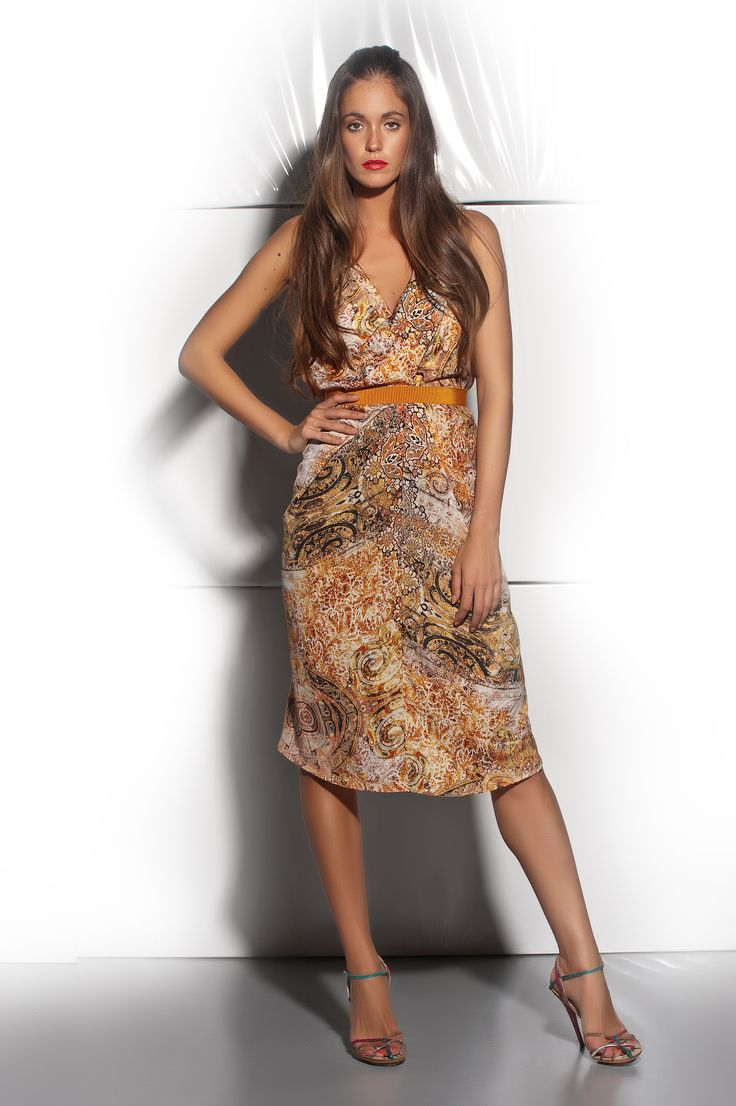 L7606ST - Printed dress