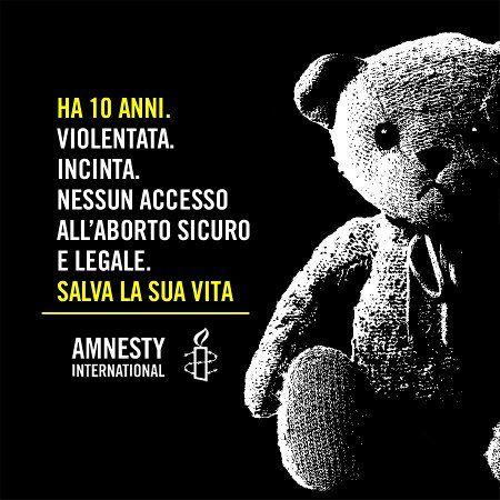 © Amnesty Amnesty International ha lanciato un'azione urgente per chiedere con forza alle autorità del Paraguay di proteggere la vita di una bambina di 10 anni incinta di 21 settimane, come conseguenza di abusi sessuali perpetrati dal patrigno.  ad oggi lo Stato non ha garantito tutte le opzioni possibili per la gestione di questa gravidanza ad alto rischio derivante dallo stupro, tra cui un aborto.