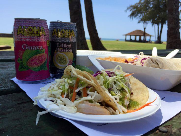 Fish tacos Kauai