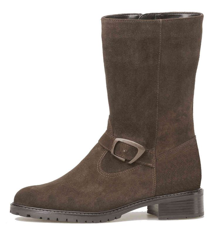 Palmroth short boot brown suede - Palmroth Shop
