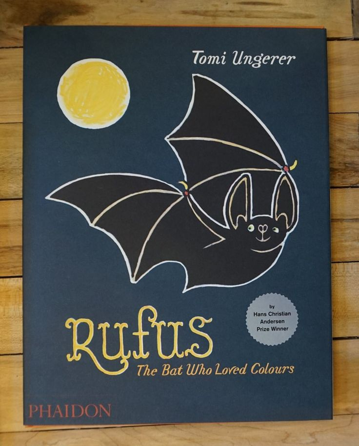Rufus the Bat Who Loved Colours by Tomi Ungerer