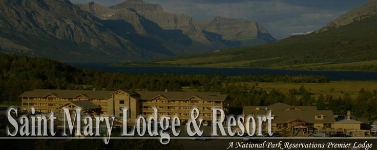 Saint mary lodge resort e w motel glacier park for St mary lodge and cabins