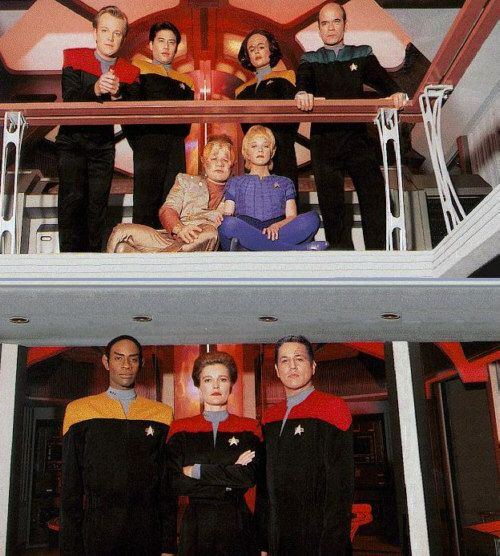 Star Trek Voyager - an interesting twist on the old Roddenberry formula