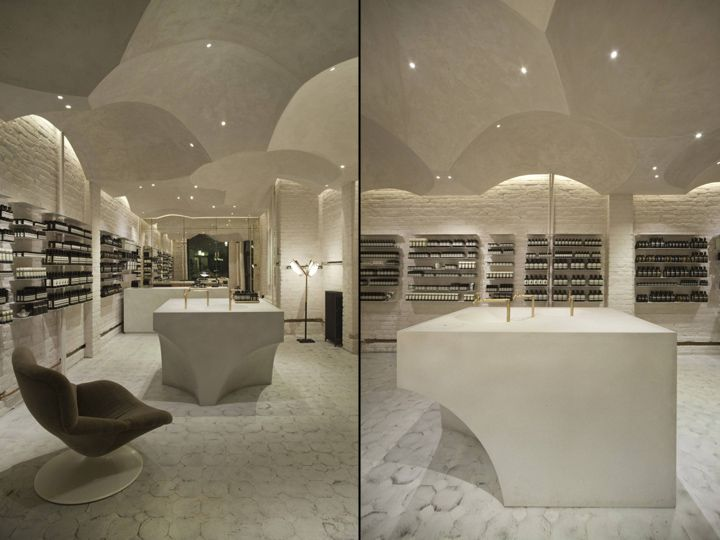 Aesop Store By Snhetta Oslo Norway Cosmetics