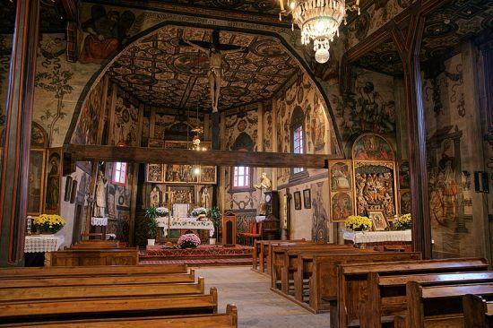 Boguszyce, kościół św. Stanisława Biskupa, 16. st.