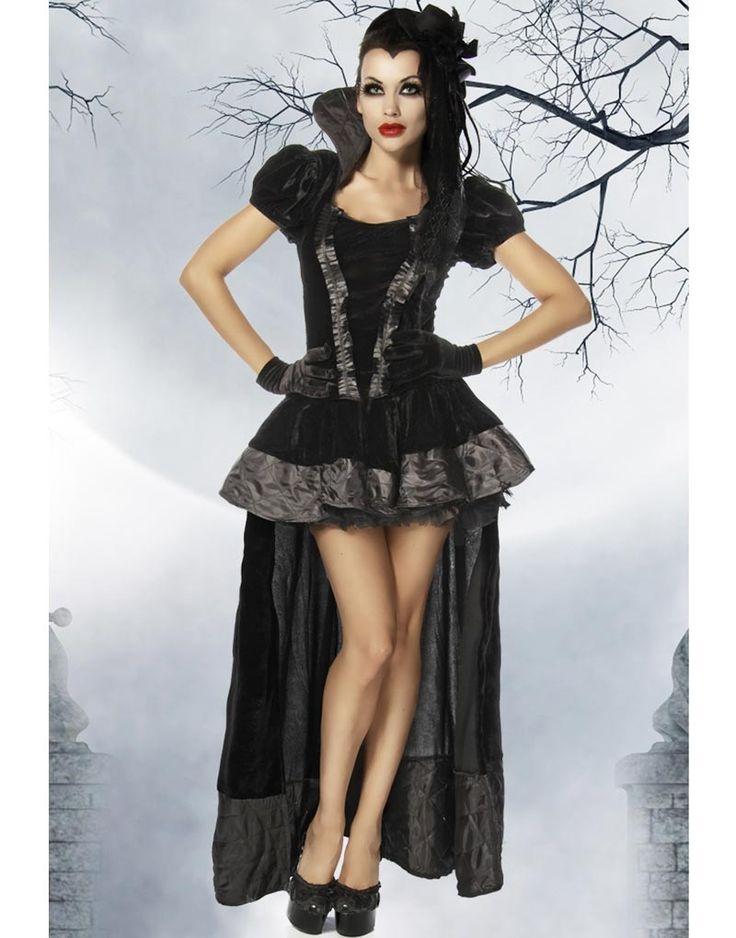 Mote og mer på nett Dirty Vamp - Vampyrkostyme til Dame og andre Vampyr, Djevel & Gotisk