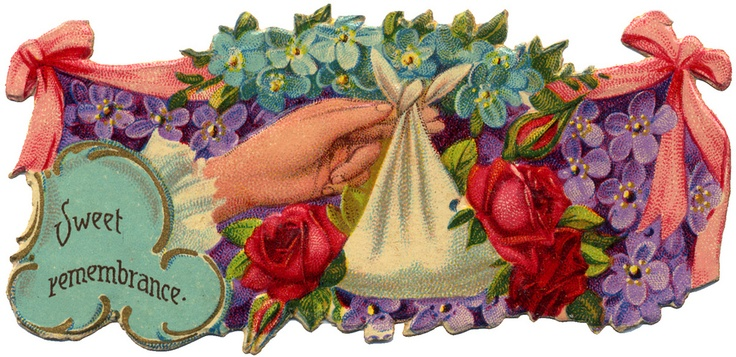 Victorian Die Cut - Sweet Remembrance: