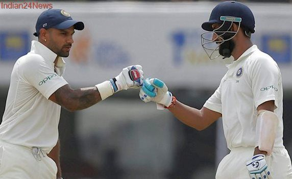 India vs Sri Lanka: Shikhar Dhawan 'breaks one thumb and eleven spirits' on Day 1
