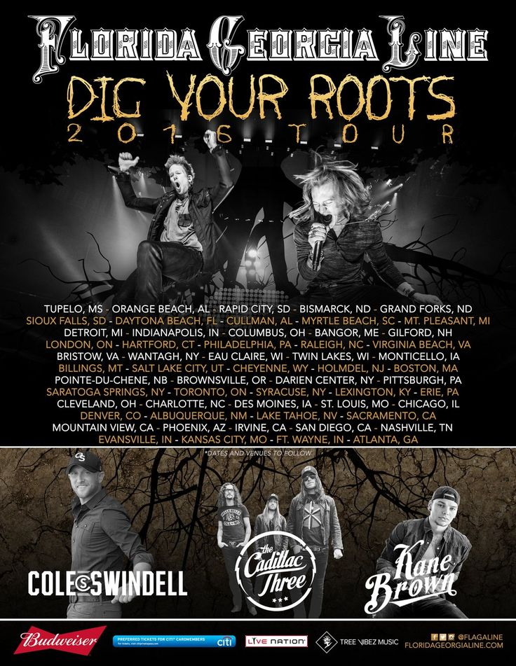 """FGL Announces """"Dig Your Roots"""" 2016 Tour – The Country Beat"""