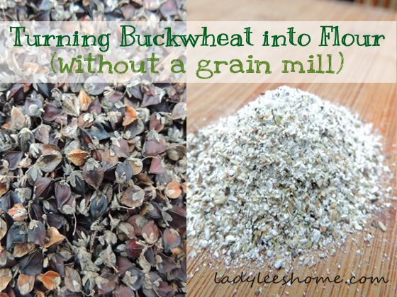 Take a look at how I dehulled and milled my homegrown buckwheat into flour without a grain mill.