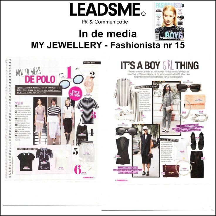 @myjewellery in @Fashionista nr 15 '15