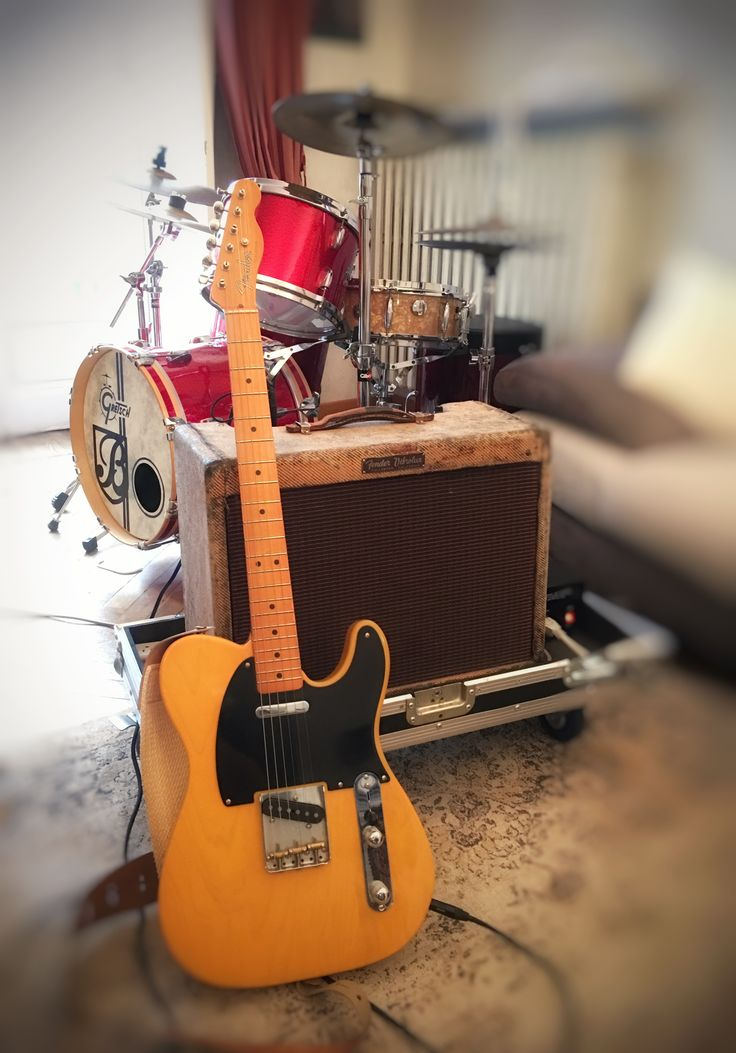 Fender telecaster americano vintage '52 and original Fender  '57  tweed vibrolux