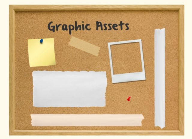 #FreePreziTemplate Bulletin Board prezi with graphic assets to copy and reuse