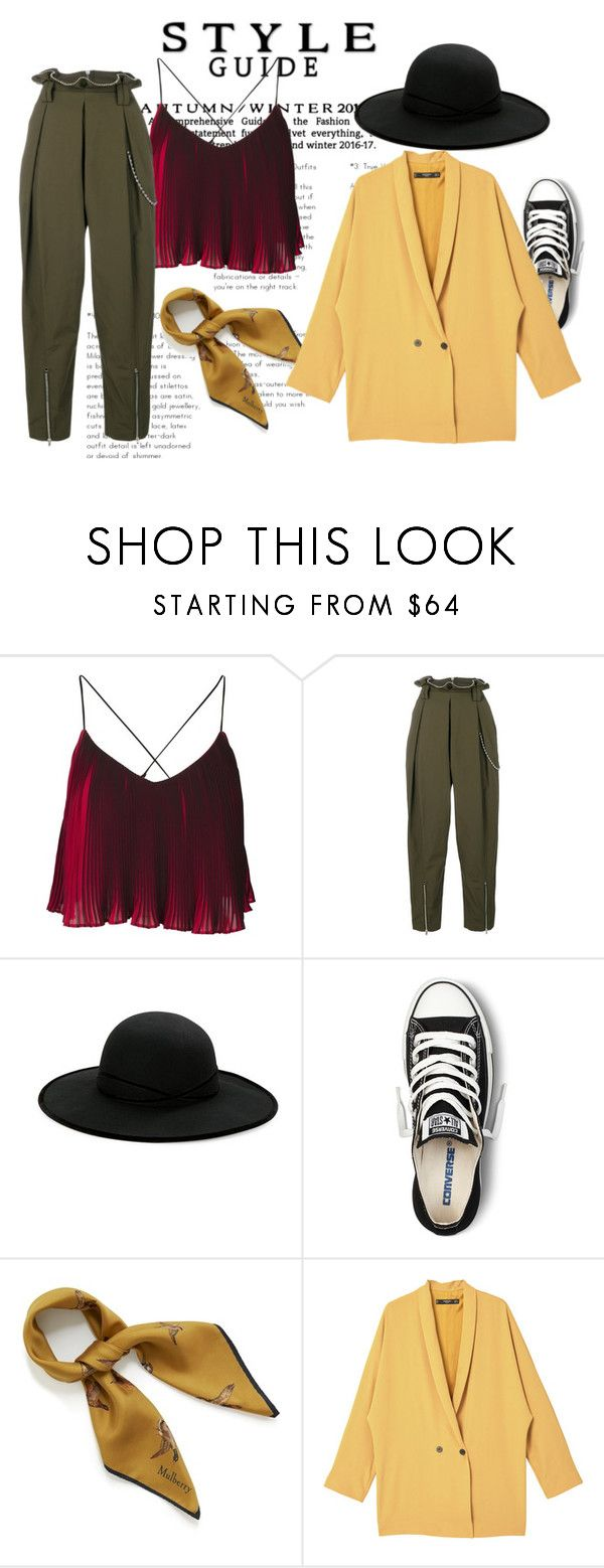 """""""Just"""" by dvorska-michaela on Polyvore featuring Alexander Wang, Betmar, Converse, Mulberry, MANGO, StreetStyle, femme and ordinary"""