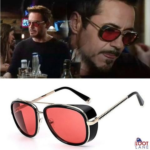 Tony stark sunglasses, Ironman Sunglasses, Tony Stark Glasses, Ironman glasses. Iron Man Shades, robert downey jr sunglasses