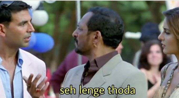 Celebrities Who Had Us In Splits With Their Funny Memes And Videos During Lockdown In 2021 Meme Template Bollywood Funny Funny Dialogues