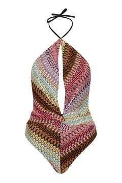 Zig-Zag Crochet Swimsuit