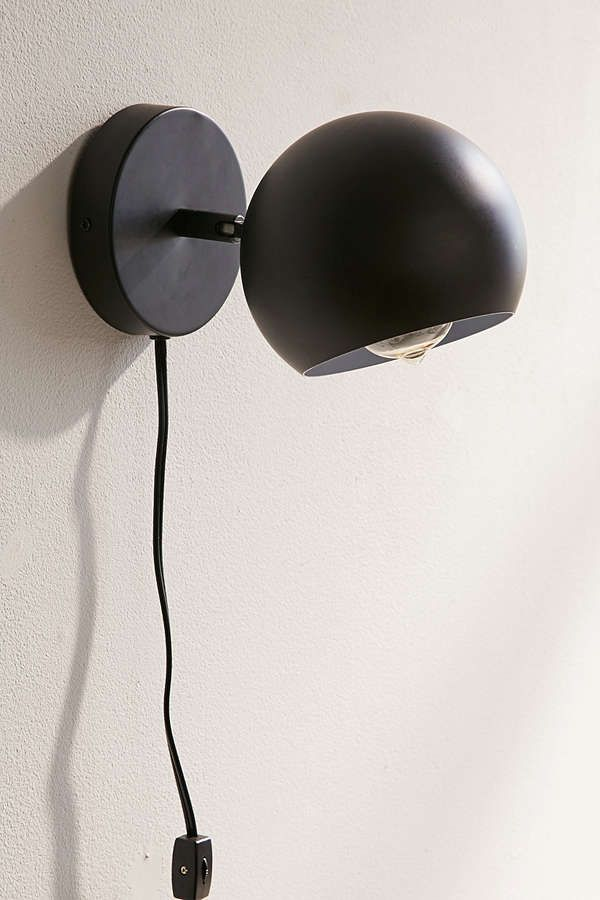 Matte Gumball Sconce | Urban Outfitters