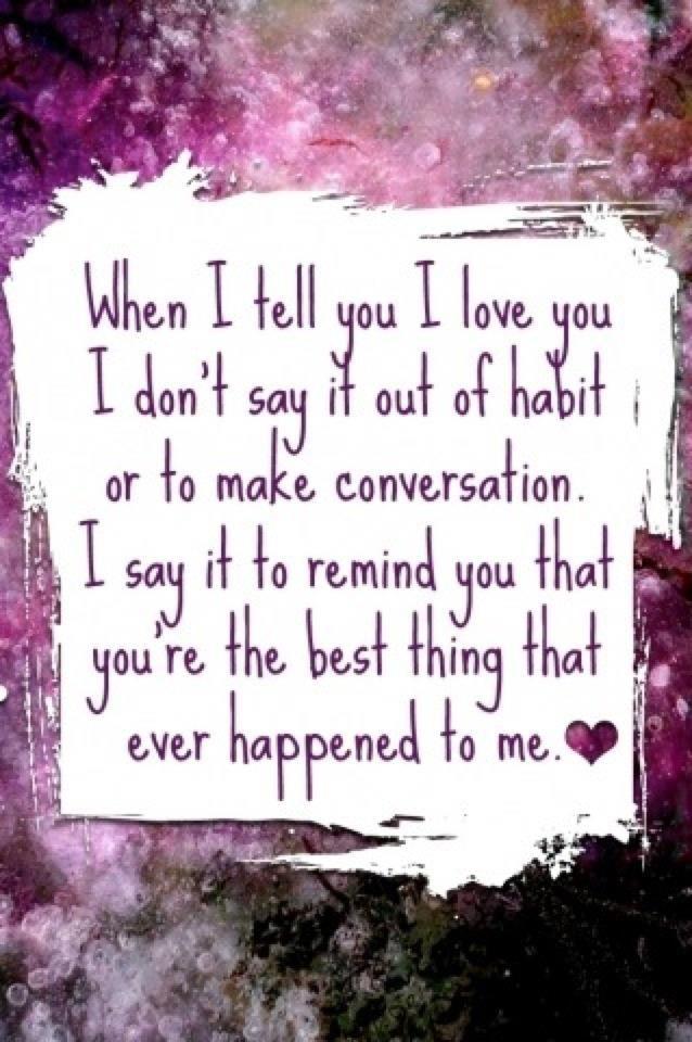 True love statement