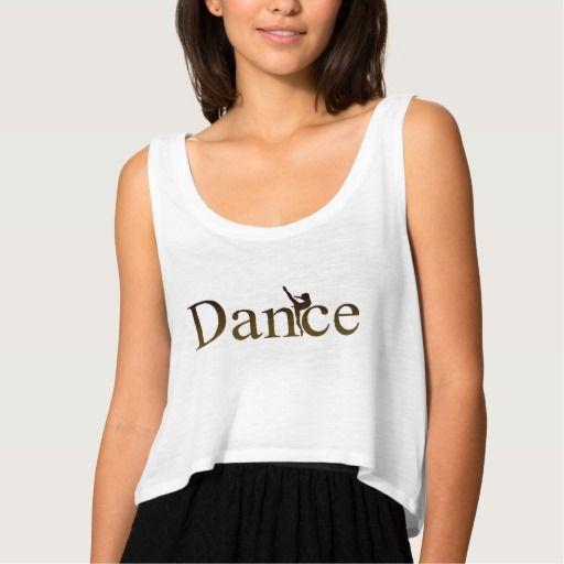 """Regata feminina """"Dance bailarina"""".  Regata fashion, leve e bonita. Sihlueta em corte quadrado esse tipo de blusa é perfeito para usar com outras camadas de roupa. Também veste bem em ocasiões ao ar livre como jogos de futebol, praia ou piscina."""
