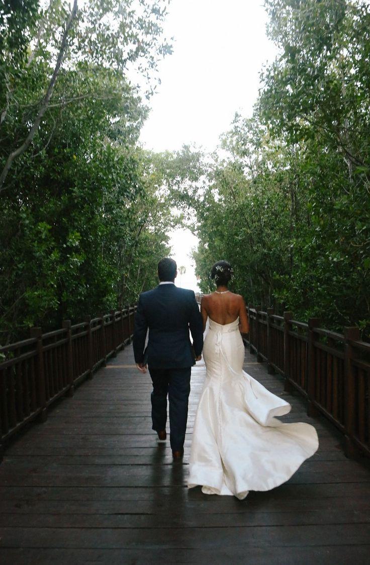 Dreamy Mexico Destination Wedding at Paradisus Playa del Carmen La Esmaralda  Breathtaking outdoor scenery!   Photographer:  Leah Moyers Photography