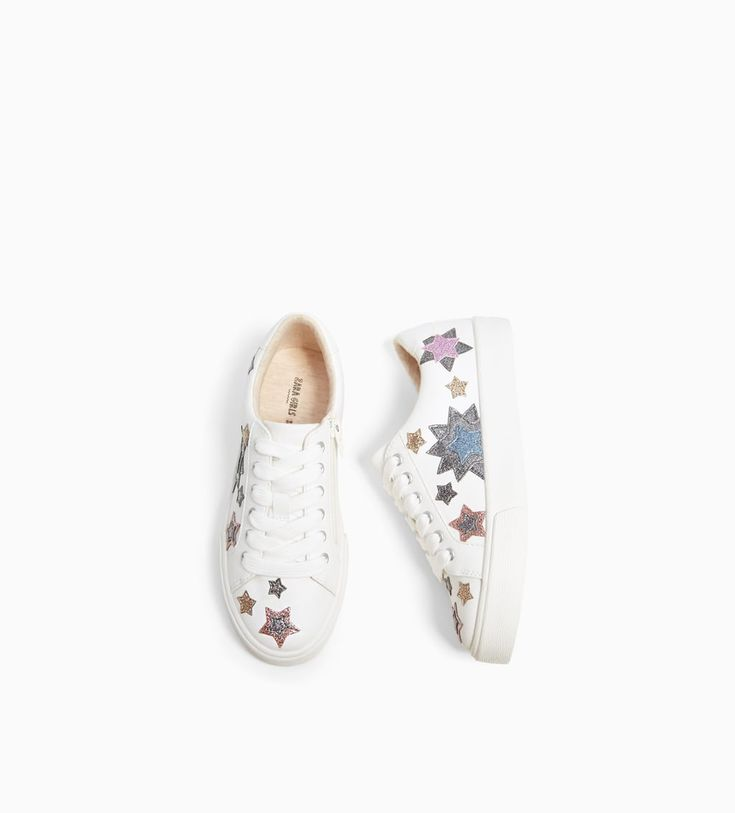 GLITTER STAR PLIMSOLLS-NEW IN-GIRL | 5 - 14 years-KIDS | ZARA United States