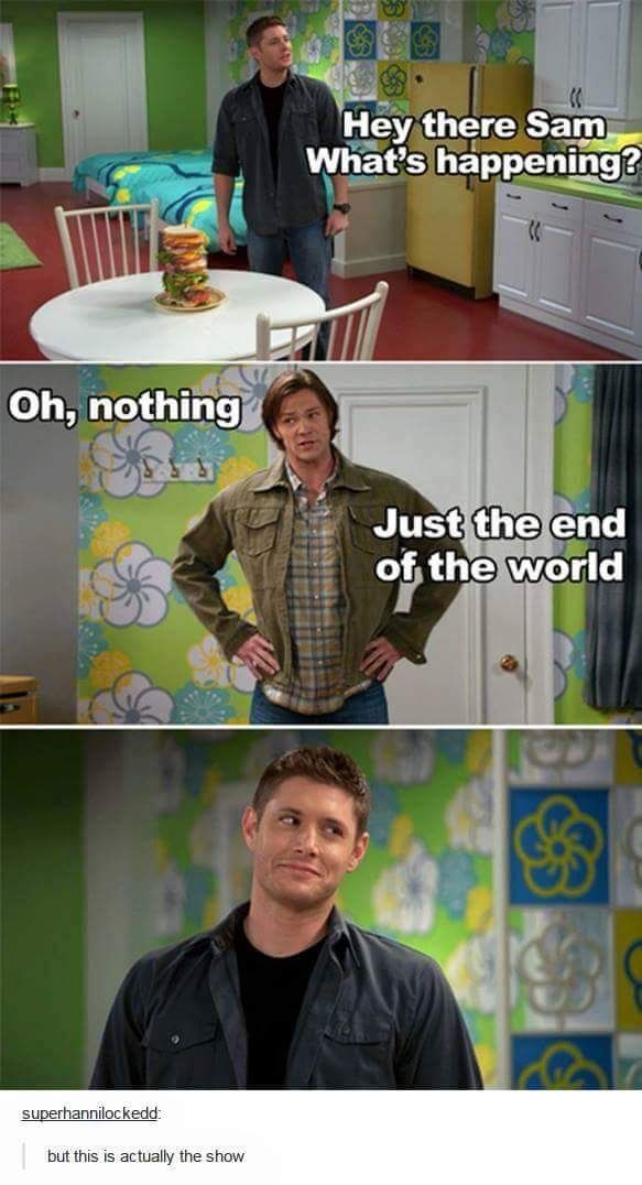 The fact these are actual lines. Supernatural