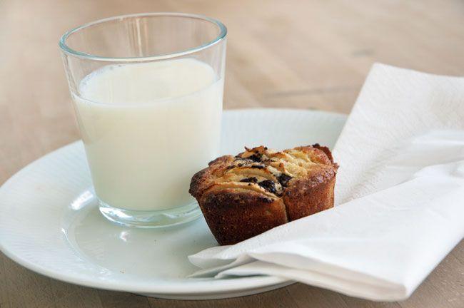 Uhm, bare duften og smagen af disse skønne pæremuffins med en lækker krumme og dejlig smag af pærer - få den bedste opskrift på muffins
