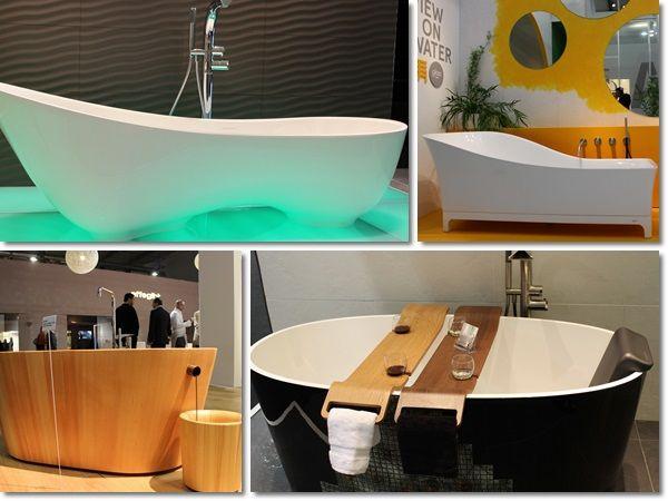Design Bathtubs @Milan De Vito Design Week #SaloneBagno #isaloni #MilanoDesignWeek #Saloneinternazionaledelmobile