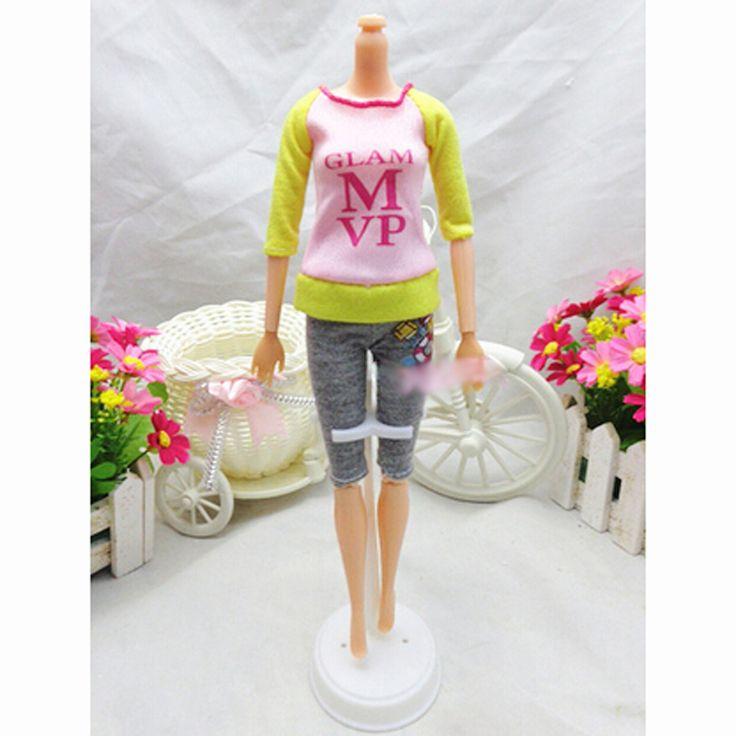 Sistemas de la Ropa Ropa Casual Trajes de etiqueta De Moda Para Barbie Doll Mejor Regalo de la Muñeca Bebé de Juguete