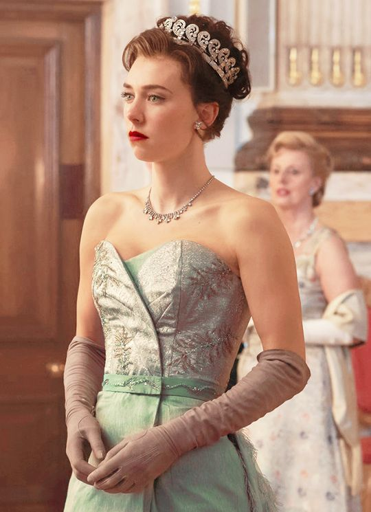 Vanessa Kirby as Princess Margaret in the Netflix series, The Crown. Love her!