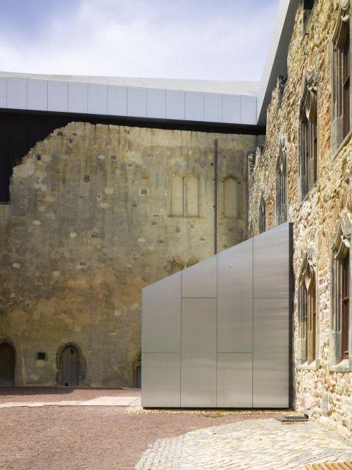 "Moritzburg Castle Nieto Sobejano Arquitectos ""The architectural proposal emerged…"