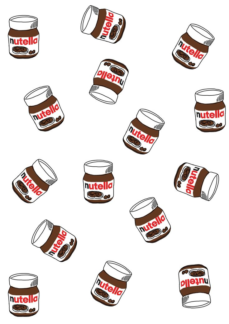 Food Pattern Wallpaper Tumblr | NUTELLA PATTERNhttp ...