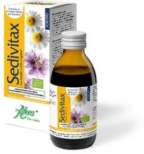 Sedivitax Pediatric Sciroppo - Sonno bambini riposo bambini - Piante medicinali prodotti naturali fitoterapia erboristeria erbe e salute